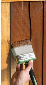 чем покрасить забор?